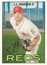 Buy 2016 Topps Heritage #399 - J.J. Hoover - Reds