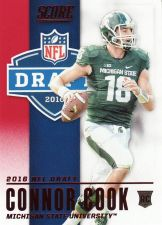 Buy 2016 Score NFL Draft Red #3 - Connor Cook - Raiders