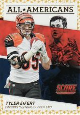 Buy 2016 Score All Americans Gold #14 - Tyler Eifert - Bengals