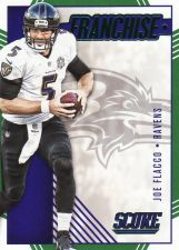 Buy 2016 Score Franchise Green #5 - Joe Flacco - Ravens