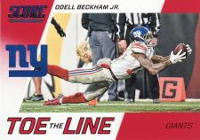 Buy 2016 Score Toe The Line Red #4 - Odell Beckham Jr. - Giants