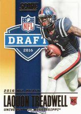 Buy 2016 Score NFL Draft Gold #6 - Laquon Treadwell - Vikings