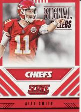 Buy 2016 Score Signal Callers Red #12 - Alex Smith - Chiefs