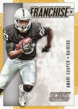Buy 2016 Score Franchise Gold #15 - Amari Cooper - Raiders