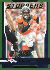 Buy 2016 Score Stoppers Green #3 - Von Miller - Broncos