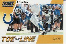 Buy 2016 Score Toe The Line Gold #9 - T.Y. Hilton - Colts