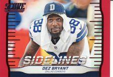 Buy 2016 Score Sidelines Red #6 - Dez Bryant - Cowboys