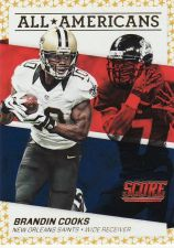 Buy 2016 Score All Americans Gold #8 - Brandin Cooks - Sanits