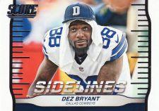 Buy 2016 Score Sidelines #6 - Dez Bryant - Cowboys