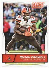 Buy 2016 Score #78 - Isaiah Crowell - Browns