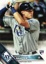 Buy 2016 Topps #3 - Richie Shaffer - Rays
