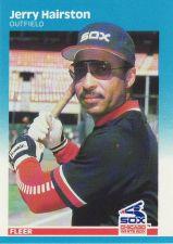 Buy 1987 Fleer #498 - Jerry Hairston - White Sox