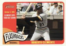 Buy 2014 Topps Heritage Baseball Flashbacks #BF-RC - Roberto Clemente - Pirates