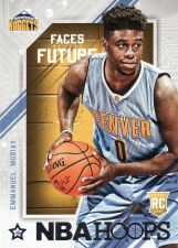 Buy 2015-16 Hoops Faces Of The Future #9 - Emmanuel Mudiay - Nuggets
