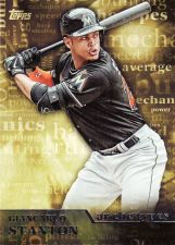 Buy 2015 Topps Archetypres #A8 - Giancarlo Stanton - Marlins