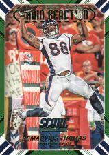 Buy 2016 Score Chain Reaction Green #14 - Demaryius Thomas - Broncos