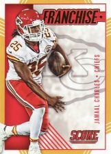 Buy 2016 Score Franchise Gold #14 - Jamaal Charles - Chiefs