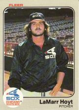 Buy 1983 Fleer #238 - LaMarr Hoyt - White Sox