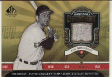 Buy 2006 SP Legendary Cuts Baseball Chronology Materials #LB -Lou Boudreau - Indians