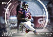 Buy 2015 Topps Fantasy Focus #FFAJ - Alshon Jeffery - Bears