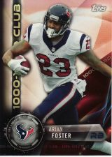 Buy 2015 Topps 1000 Yard Club #1KYC-AF - Arian Foster - Texans