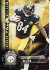 Buy 2015 Topps 1000 Yard Club #1KYC-AB - Antonio Brown - Steelers