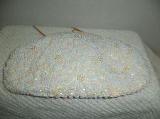 Buy Vintage Beaded Sequins & Pearls Evening Bag