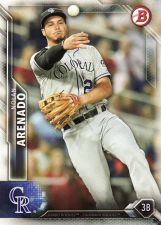 Buy 2016 Bowman #32 - Nolan Arenado - Rockies