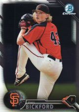 Buy 2016 Bowman Chrome Prospects #BCP72 - Phil Bickford - Giants