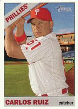 Buy 2015 Topps Heritage #57 - Carlos Ruiz - Phillies