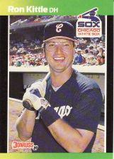 Buy 1989 Donruss Baseball's Best #249 - Ron Kittle - White Sox