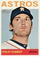 Buy 2013 Topps Heritage #130 - Philip Humber - Astros