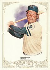 Buy 2012 Allen & Ginter #137 - George Brett - Royals