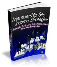 Buy member ship site income strategies