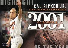 Buy 2015 Topps Highlight Of The Year #H27 - Cal Ripken Jr. - Orioles