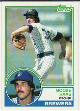 Buy 1983 Topps #503 - Moose Haas - Brewers