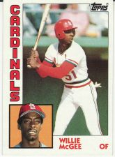 Buy 1984 Topps #310 - Willie McGee - Cardinals