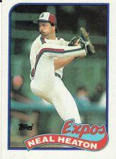 Buy 1989 Topps #197 - Neal Heaton - Expos