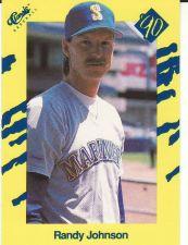 Buy 1990 Classic III #T22 - Randy Johnson - Mariners