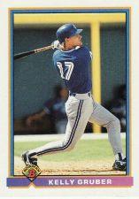 Buy 1991 Bowman #18 - Kelly Gruber - Blue Jays