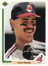 Buy 1991 Upper Deck #125 - Carlos Baerga - Indians