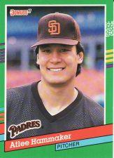 Buy 1991 Donruss #707 - Atlee Hammaker - Padres