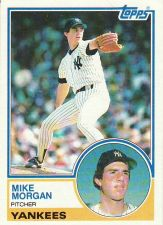 Buy 1983 Topps #203 - Mike Morgan - Yankees