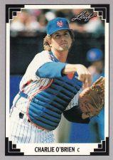 Buy 1991 Leaf #122 - Charlie O'Brien - Mets
