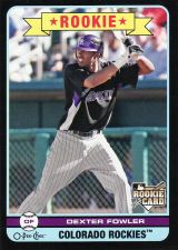 Buy 2009 O-Pee-Chee Black #596 - Dexter Fowler - Rockies