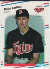 Buy 1988 Fleer #7 - Steve Carlton - Twins