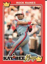 Buy 1990 Kay-Bee #24 - Tim Raines - Expos