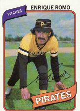 Buy 1980 Topps #332 - Enrique Romo - Pirates