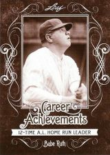 Buy 2016 Leaf Babe Ruth Collection Career Achievements #CA8 - Babe Ruth - Yankees