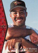 Buy 1995 SP #122 - Harold Baines - Orioles